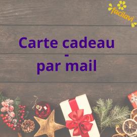 Carte cadeau - par mail