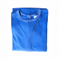 Chemise malade coton femme bleu roy