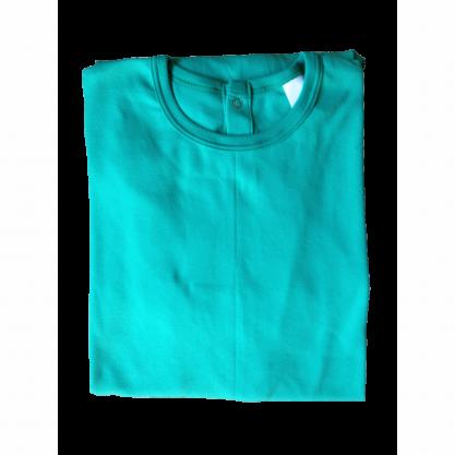 Chemise malade coton femme vert