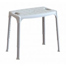 Tabouret de douche assise large