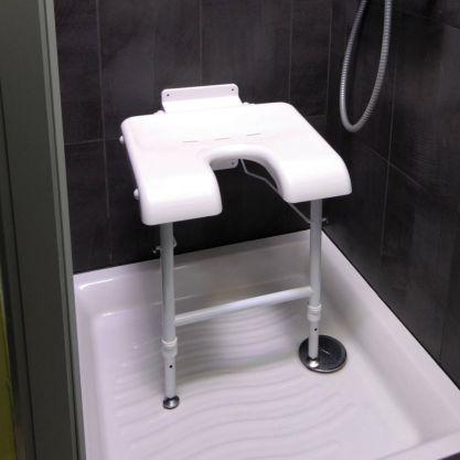 Strapontin douche Bornéo ouvert