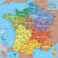 Puzzle d'art 24 grosses pièces Carte de France