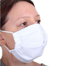 Masque tissu lavable de 3/4