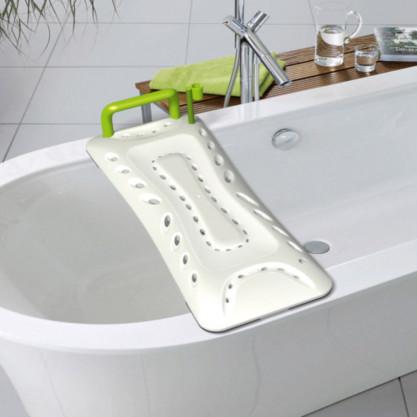 Planche de bain ergonomique robuste sur baignoire