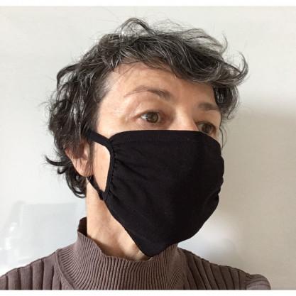 Masque tissu lavable fin