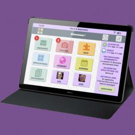 Tablette Facilotab Wifi avec étui