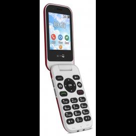 Doro 7030 téléphone Internet Rouge ouvert