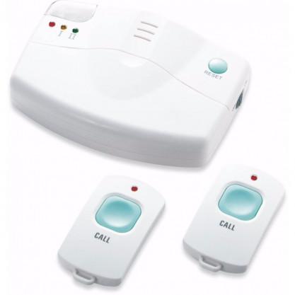 Système d'appels domestique pour personnes âgées boîtier et pendentifs