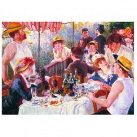 Puzzle d'art 50 grosses pièces Le déjeuner des Canotiers