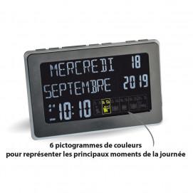 Horloge calendrier petites dimensions