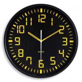 Horloge grands chiffres contraste silencieuse