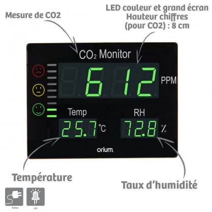 Mesureur de CO2 Quaelis 12