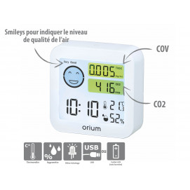Mesureur de la qualité de l'air intérieur Quaelis 20