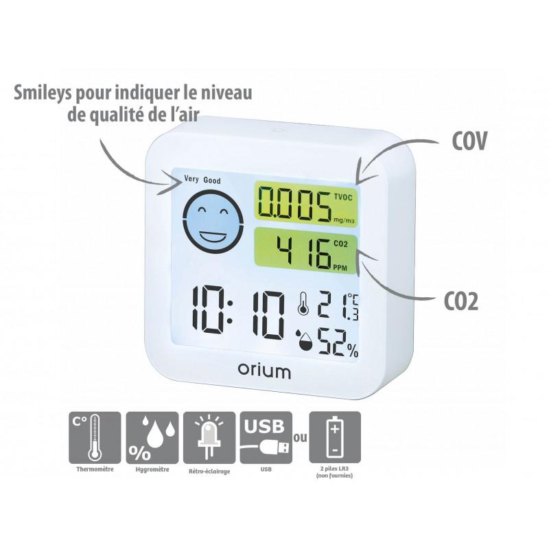 Mesureur de la qualité de l'air pour maison ou appartement