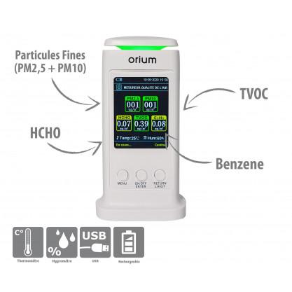 Mesureur Qualité air intérieur Quaelis 40