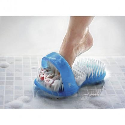 Sandale brosse moussante et lavante