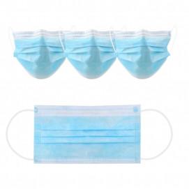 Masque chirurgical jetable non stérile 3 plis