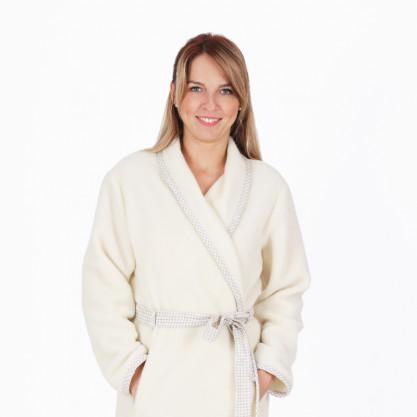 Robe de chambre mérinos femme