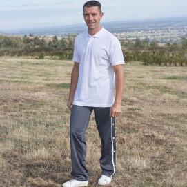 Pantalon jogging ouvert sur le côté du 38 au 56