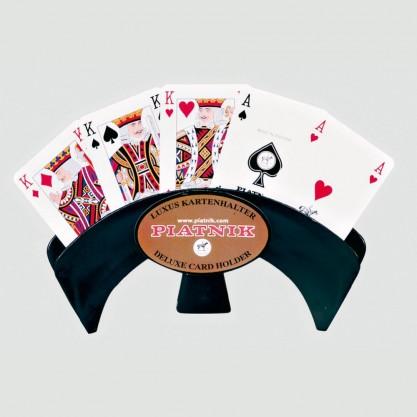 Support cartes à jouer de luxe à poser en éventail