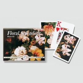 Coffret de 2 jeux de cartes très lisibles - Butterfly