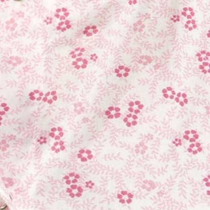 Chemise malade femme tissu fleurette rose
