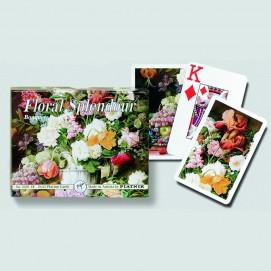 Coffret de 2 jeux de cartes très lisibles - Bouquet