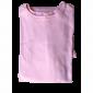 Chemise malade coton femme rose