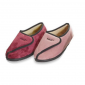 Chaussons pieds large fuschia ou rose