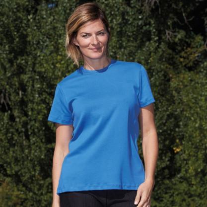 Tee-shirt femme manches courtes dos croisé