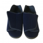 Chaussons grande ouverture bleu ou rouge