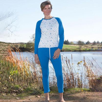 Grenouillère femme pyjama long éco