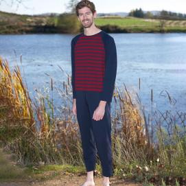 Grenouillère homme pyjama long éco