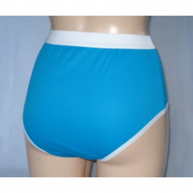 Culotte 100% intraversable - Chocolat, Vert, Bleu
