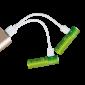 Piles AA rechargeables USB - Par 4 - 2 piles en charge