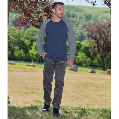 Pantalon velours 38 au 64 Gris situation