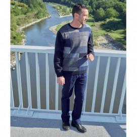 Pantalon jean ceinture confort du 38 au 68