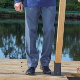 Pantalon élastiqué avec braguette