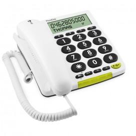 Téléphone à grosses touches PhoneEasy 312cs Doro - vue gauche