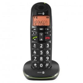 Téléphone fixe sans fil Phone Easy 100w Doro - de face sur son socle