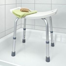 Tabouret de douche hauteur réglable en situation