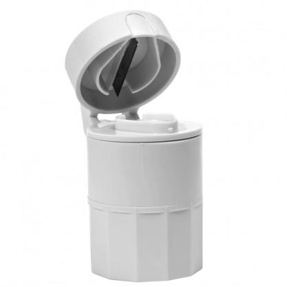 Coupe comprimés - broyeur de comprimés - couvercle ouvert