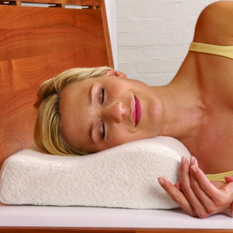 oreiller anatomique memoire de forme Oreiller ergonomique à mémoire de forme   Confort du sommeil oreiller anatomique memoire de forme