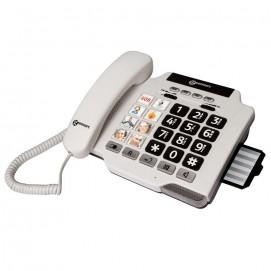 Téléphone amplifié Photophone 100 de Geemarc