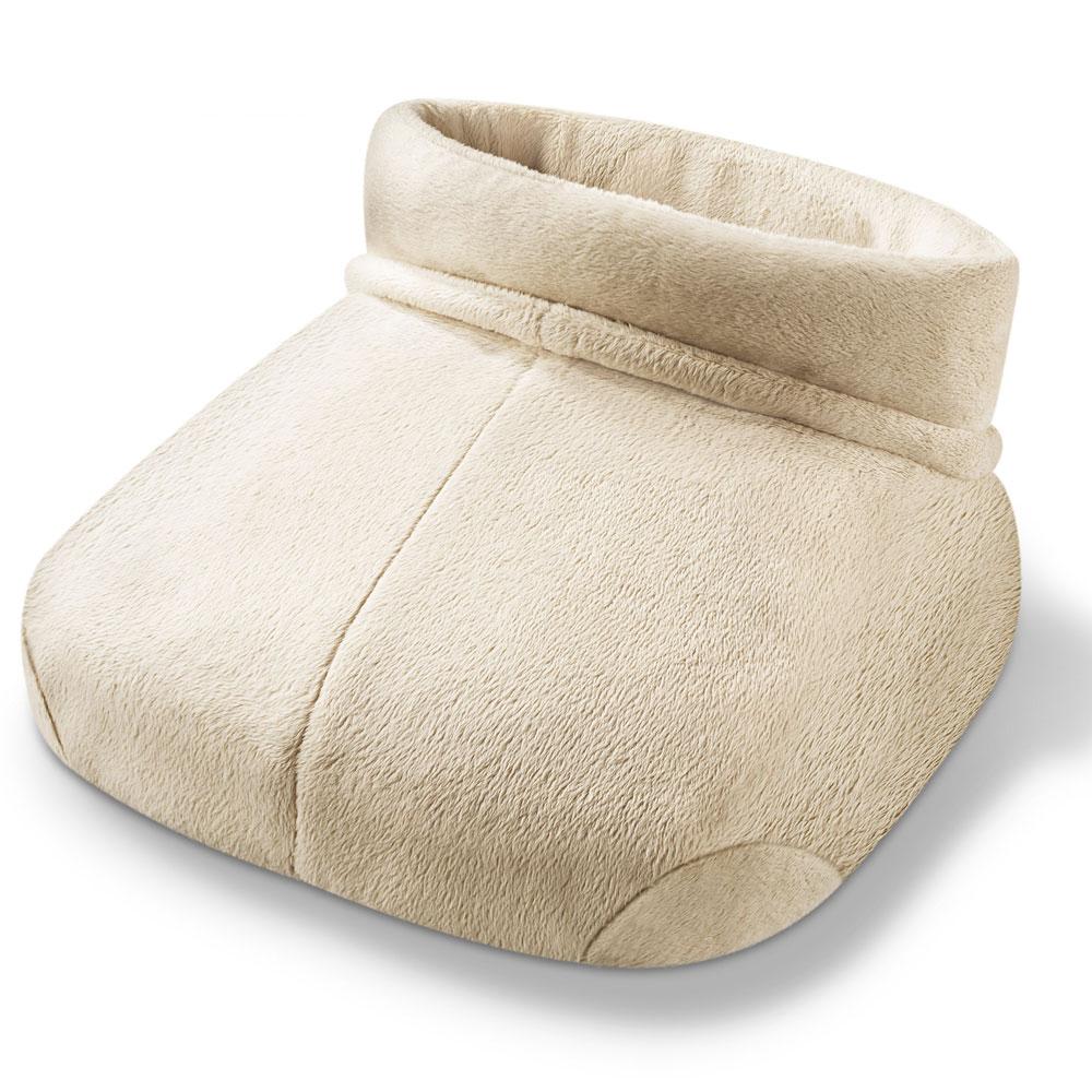chancelière chauffe-pieds massant