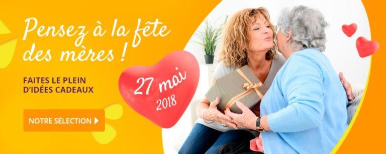 Idées cadeaux - Fête des mères le 27 mai 2018
