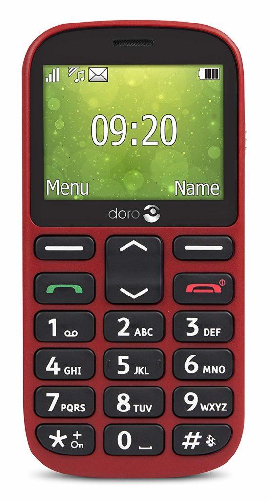 Portable rouge pour senior