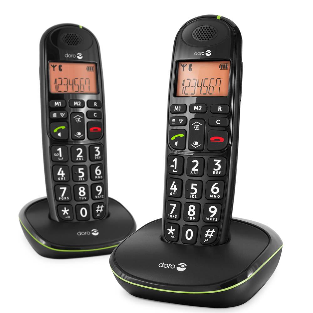 Téléphones senior Doro Phone Easy 100w duo