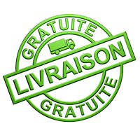 Logo livraison gratuite