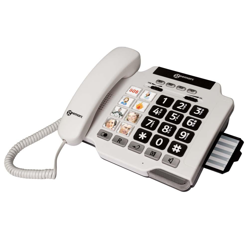 Téléphone senior Geemarc Photophone 100